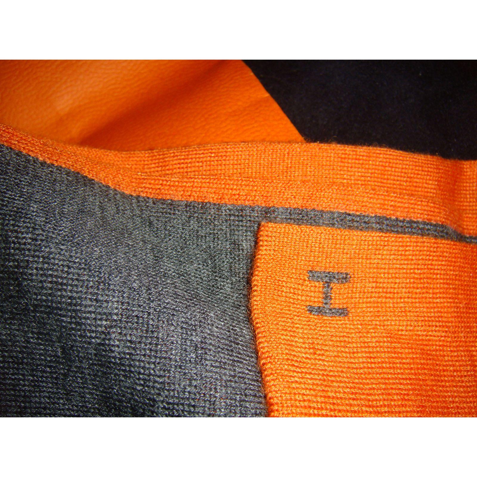 Echarpe homme cachemire orange - Idée pour s habiller 8983bc220b9