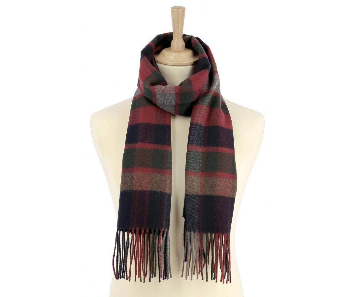 écharpe bordeaux laine homme - Idée pour s habiller 70523ab2403