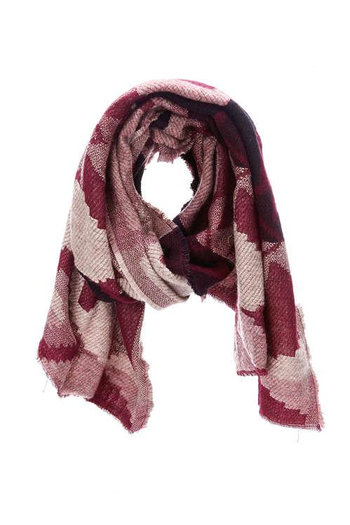 134b1304f184 écharpe bordeau femme - Idée pour s habiller