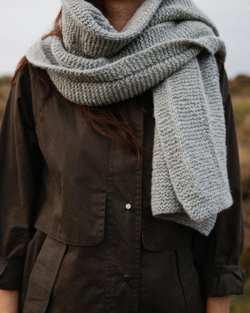 Modèle echarpe tricot homme