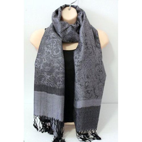d2c773919a51f Echarpe soie - cachemire - Idée pour s habiller
