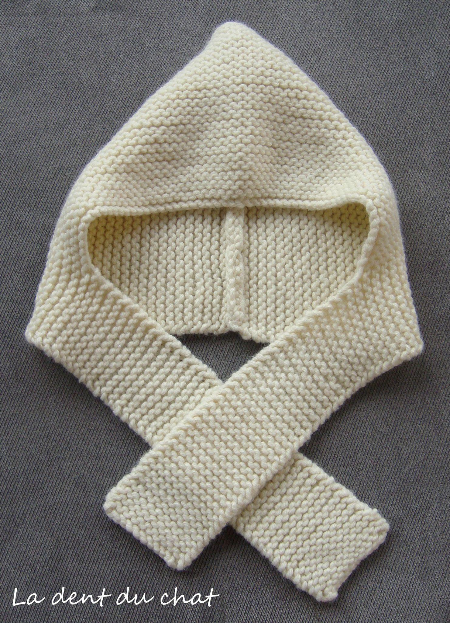 Tricoter un bonnet echarpe - Idée pour s habiller 01a49e2e734