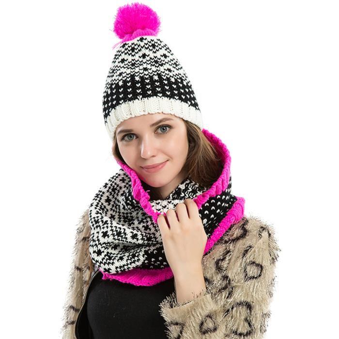 Ensemble bonnet echarpe hiver femme - Idée pour s habiller 7d9d4bffea1