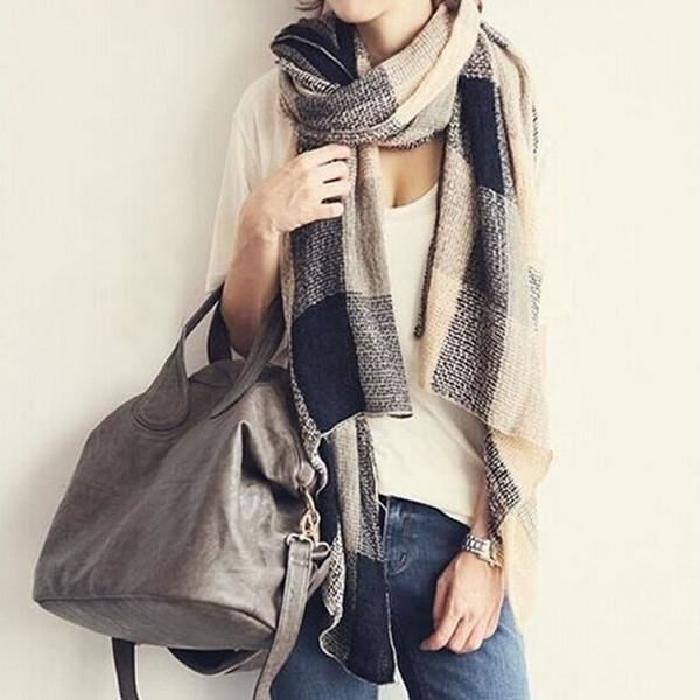 Maxi echarpe femme - Idée pour s habiller 04ef1bba743