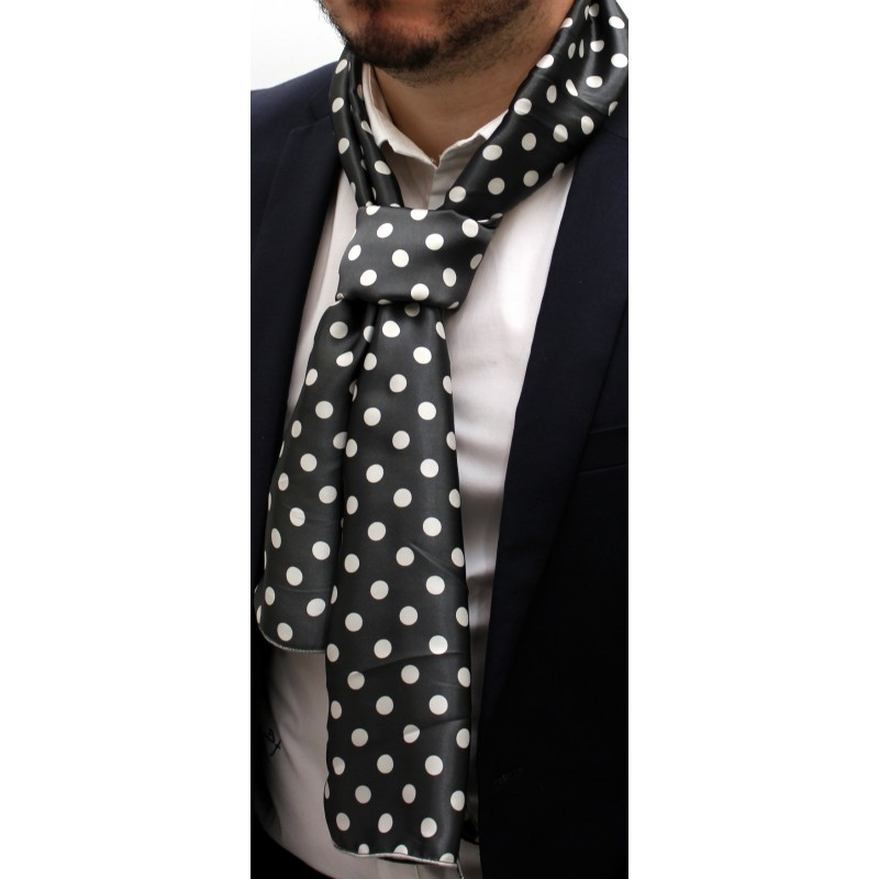 2331650dbd83 écharpe à pois homme - Idée pour s habiller