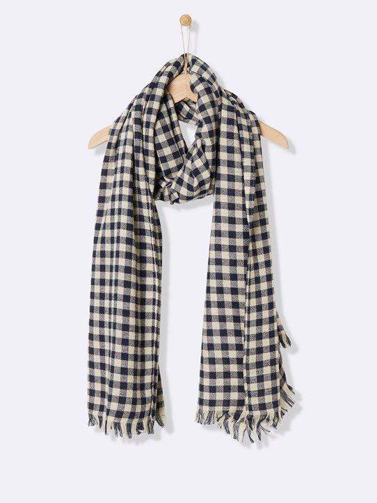 3ae54a2fea9d écharpe femme vichy - Idée pour s habiller