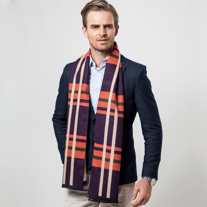 72c8469ff8973 Echarpe homme classique - Idée pour s habiller