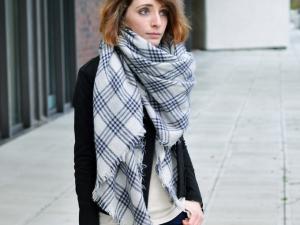 Grosse echarpe hiver femme - Idée pour s habiller bc82fbbb044