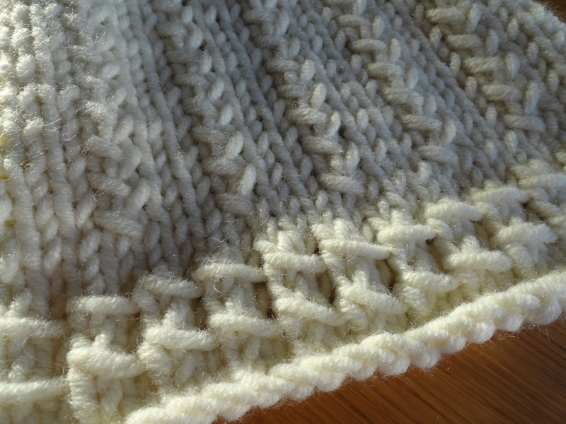 2c7aa18c9219 Modele de point tricot pour echarpe - Idée pour s habiller