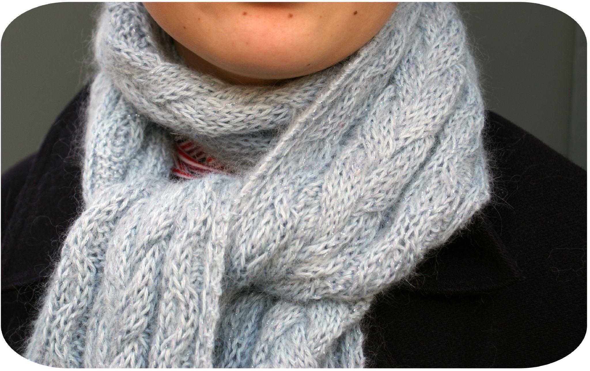 bc557e930d07 Modèle gratuit tricot echarpe homme - Idée pour s habiller