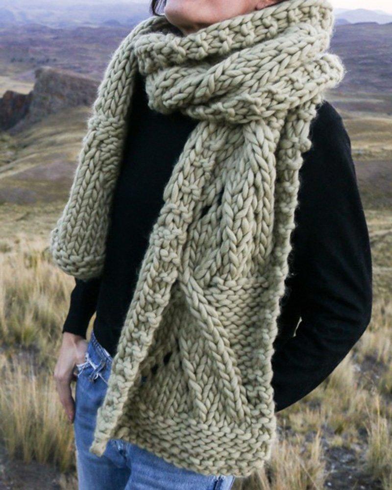 Echarpe femme à tricoter - Idée pour s habiller 973ac10e29a