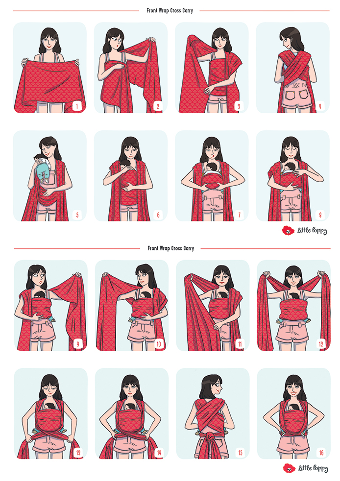 écharpe de portage mode d emploi - Idée pour s habiller eea0fd381f1