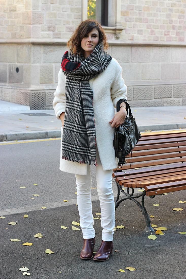 Comment porter grosse echarpe laine homme