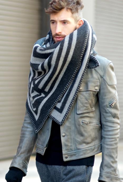 Grande echarpe homme en laine - Idée pour s habiller 6d4dd476e23