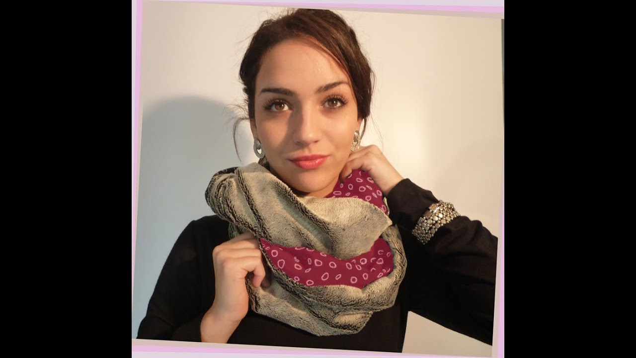 Tuto écharpe polaire femme - Idée pour s habiller b04af9a6290