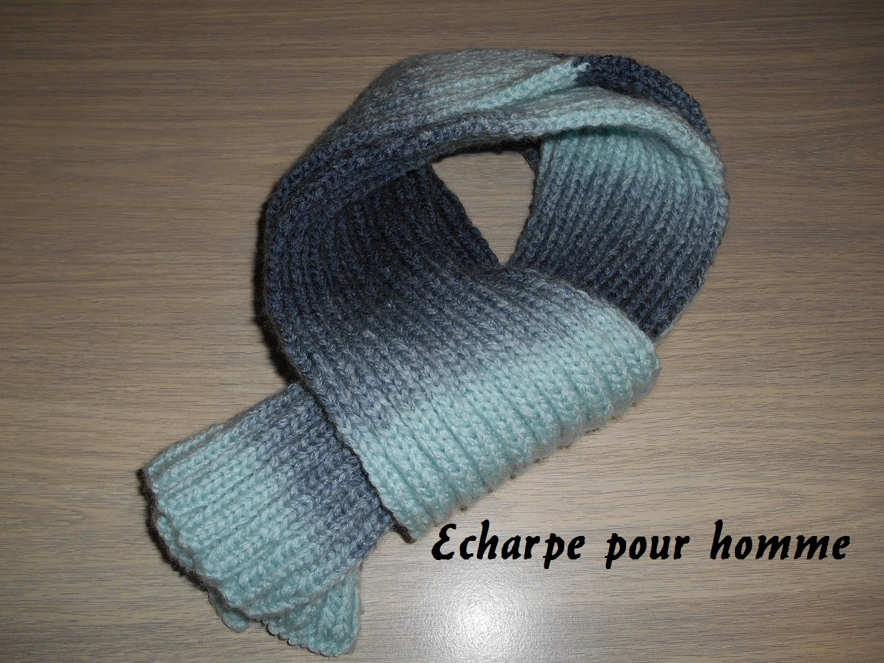 Tricoter une echarpe homme debutant - Idée pour s habiller 850051ad0b5
