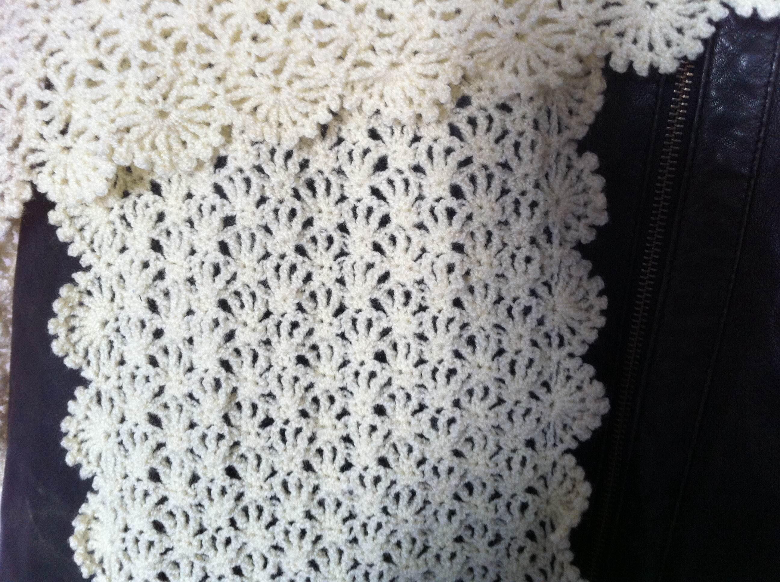 49c044820367 Tuto echarpe femme crochet - Idée pour s habiller