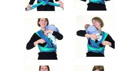 Mode d emploi echarpe de portage - Idée pour s habiller b6d3d4fca14