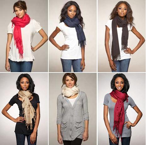 5310e5ddcd0b Comment bien mettre une echarpe pour femme - Idée pour s habiller