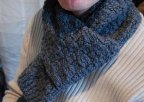 écharpe maille femme - Idée pour s habiller f2d84d724bf