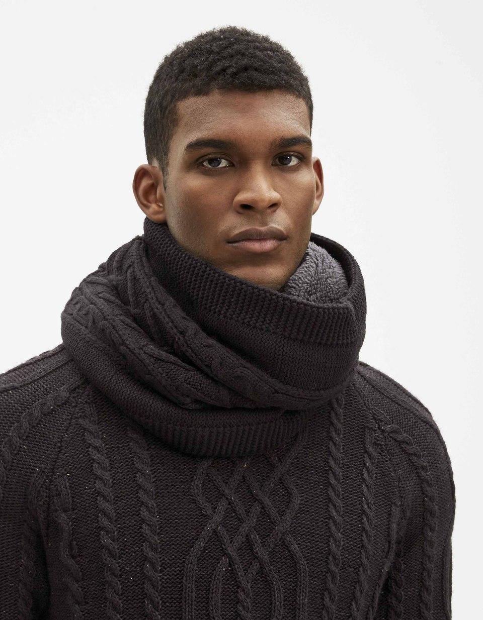bca54494d2ff Echarpe tour cou homme - Idée pour s habiller