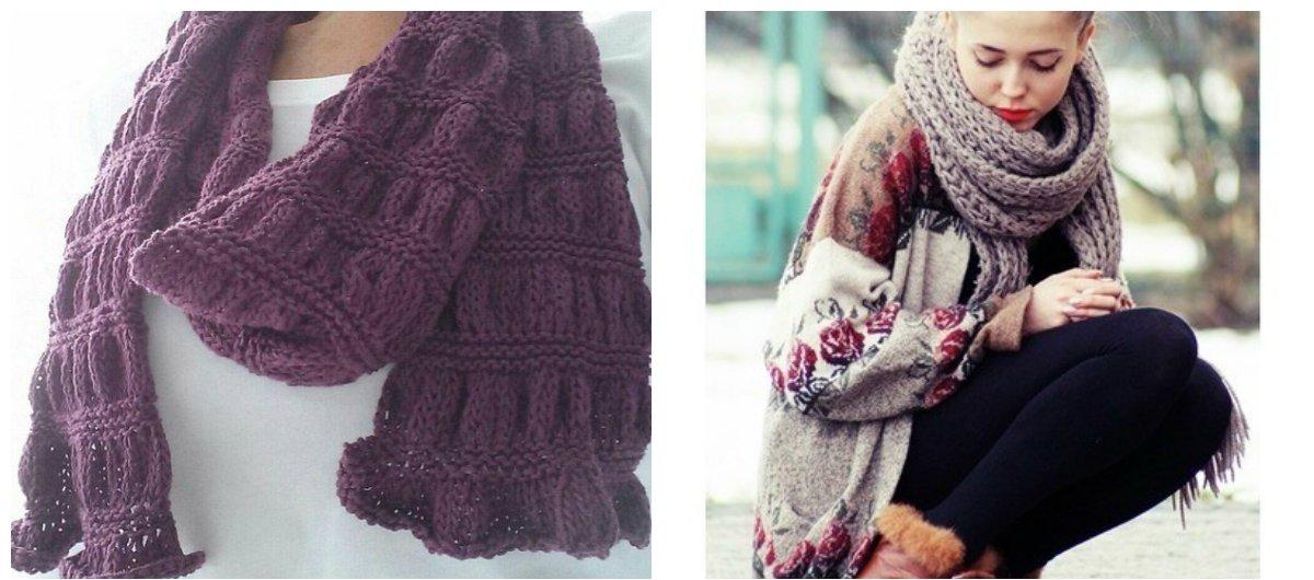 Echarpe femme hiver tendance - Idée pour s habiller 394a6564a4d