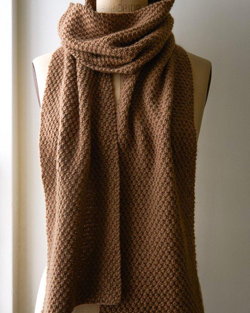 045594e8f040 Echarpe a tricoter homme - Idée pour s habiller