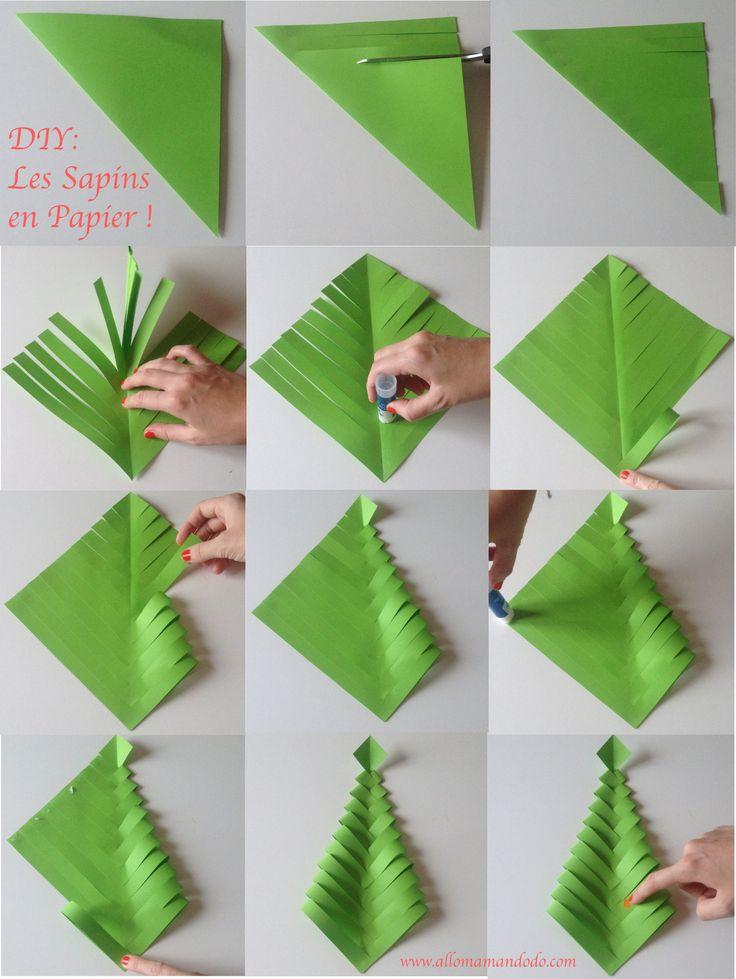 Comment faire un cadeau de noel en papier