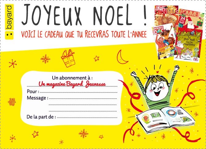Cadeau noel magazine