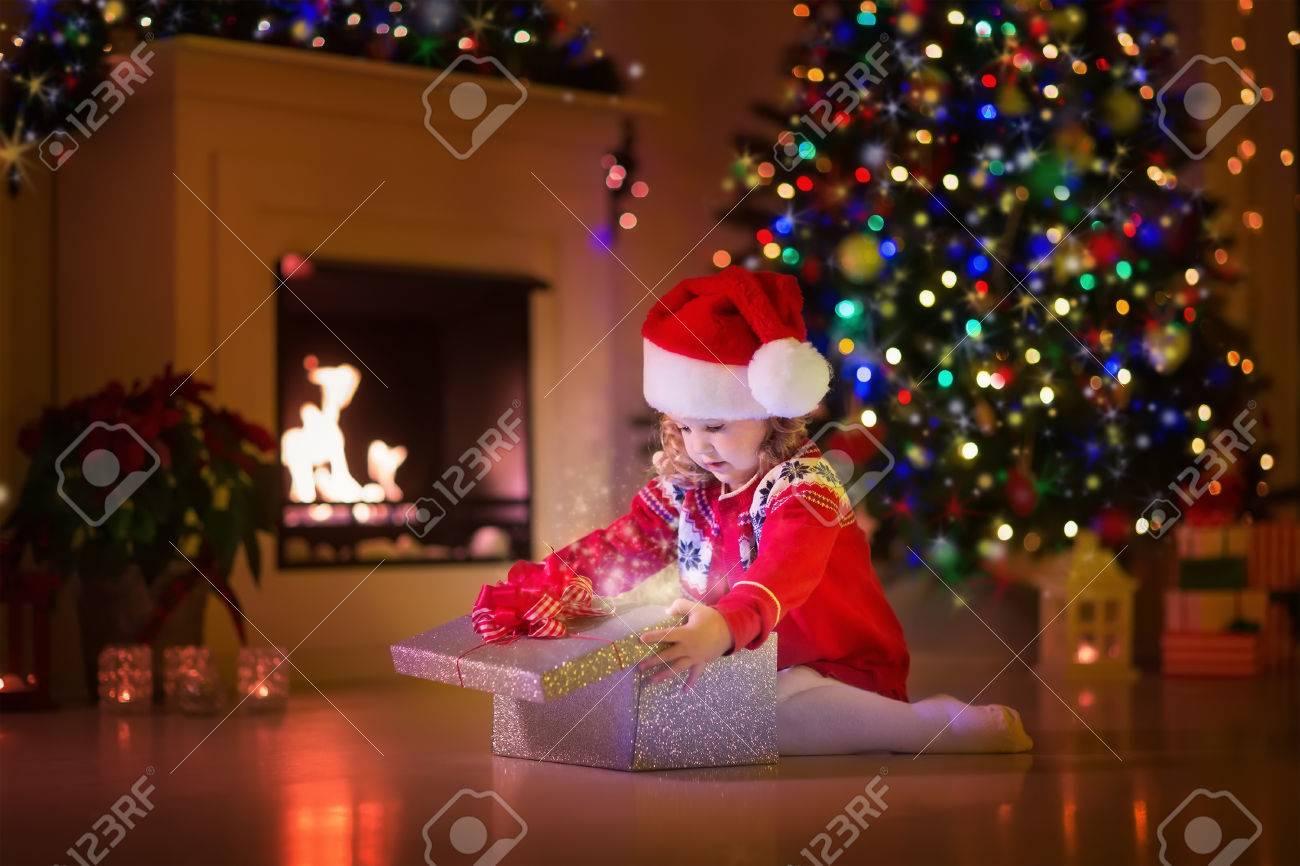 Ouverture cadeau de noel