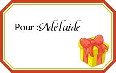 Etiquette cadeau noel personnalisée gratuite