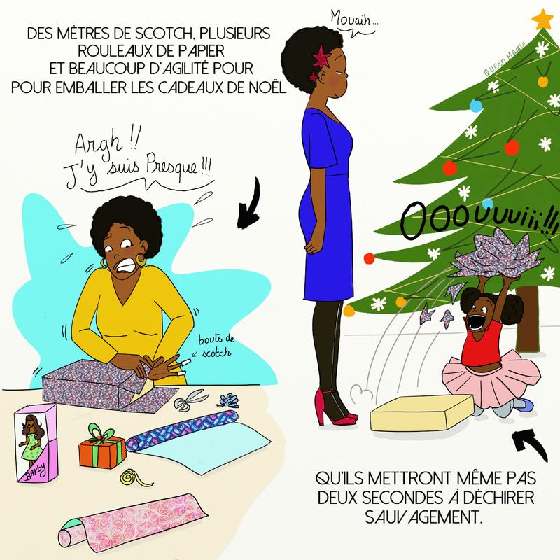 Emballage cadeau noel humour   Airship paris.fr