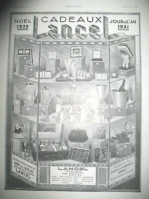 Cadeau de noel en 1930
