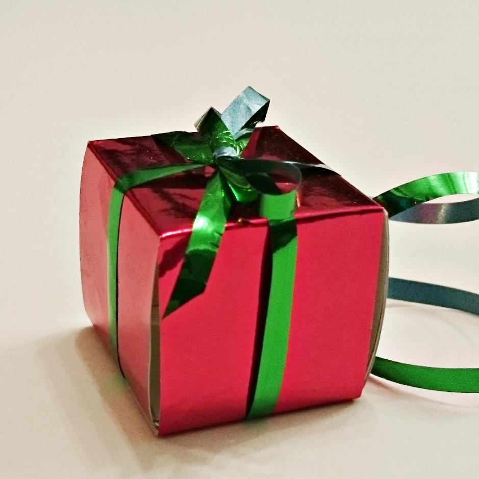 Cadeau en papier pour noel