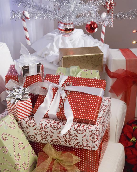 Décoration cadeau noël
