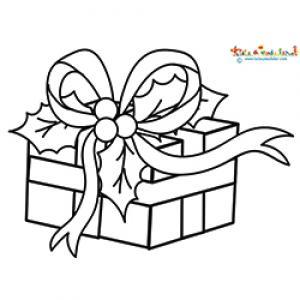 Illustration cadeau noel