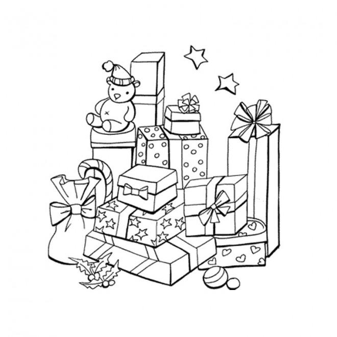 Dessin A Imprimer Cadeau De Noel