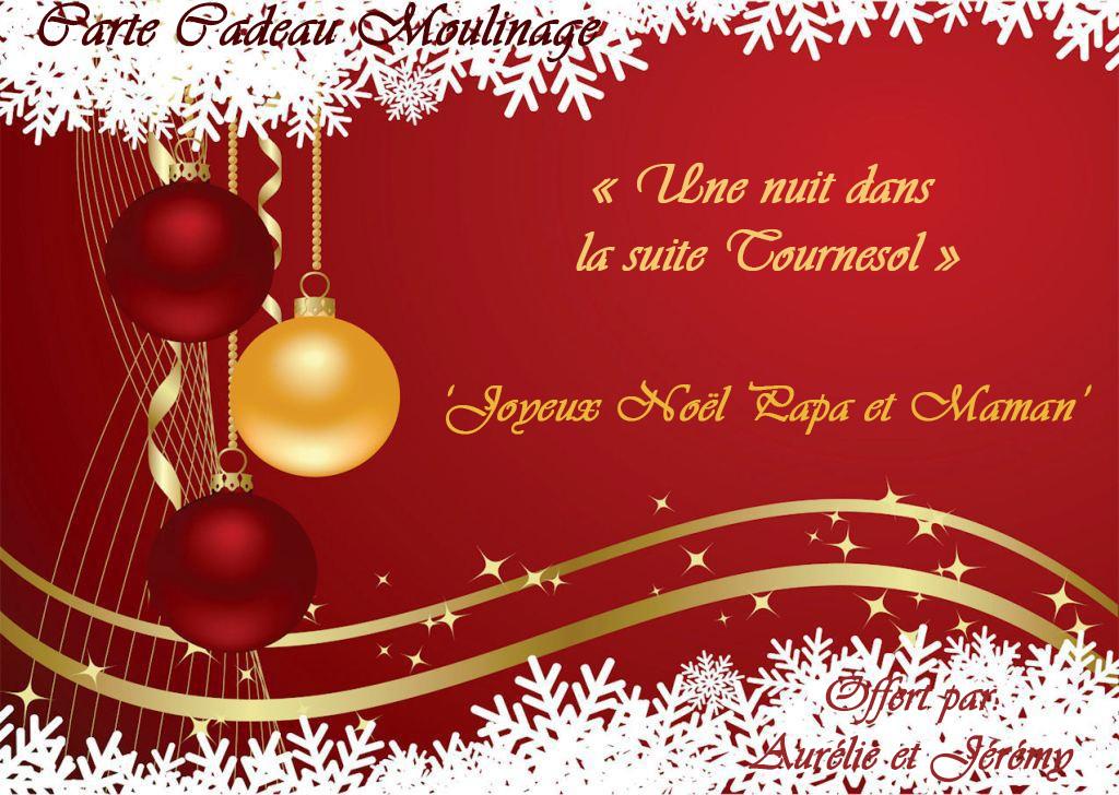 Carte cadeau noel modèle   Airship paris.fr