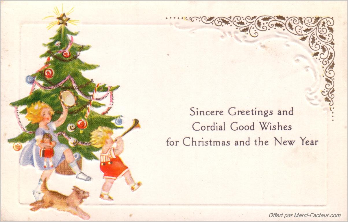 Texte sur carte cadeau noel