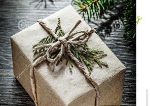 Cadeau de noel emballée
