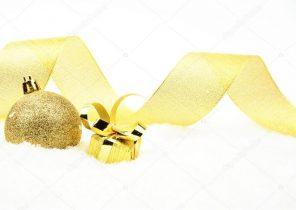 Cadeau doré noel