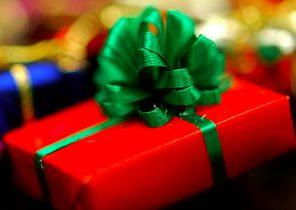 Cadeau noel emballé