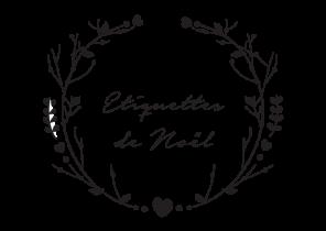 étiquette Cadeau Noel Imprimer Noir Et Blanc Airship Paris Fr