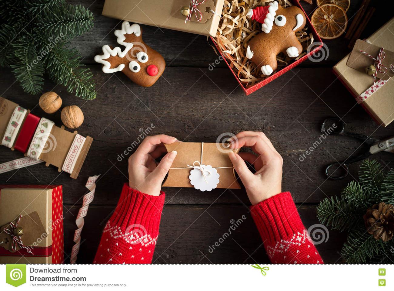 Cadeau noel vide