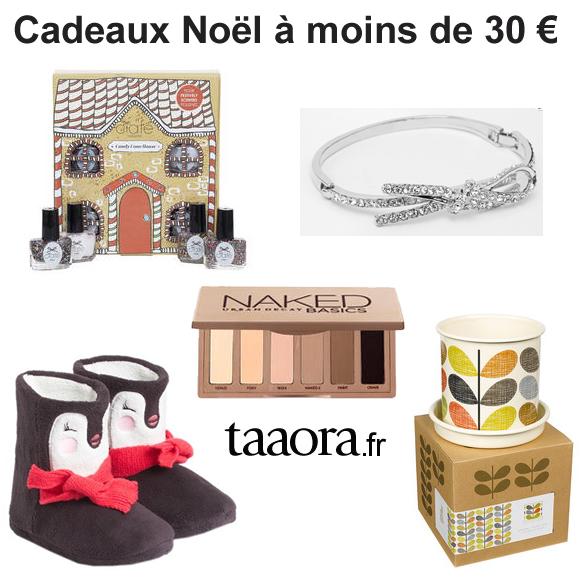 Cadeau de noel pour 30 euros