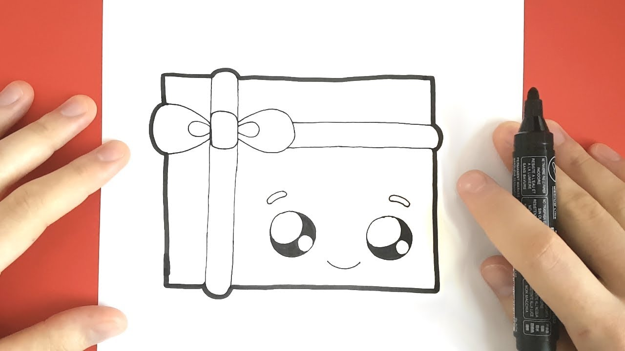 Cadeau de noel kawaii