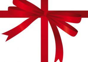 Dessin noeud cadeau noel