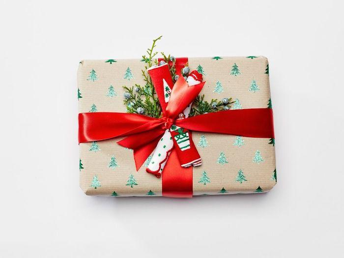 Image paquet cadeau de noel