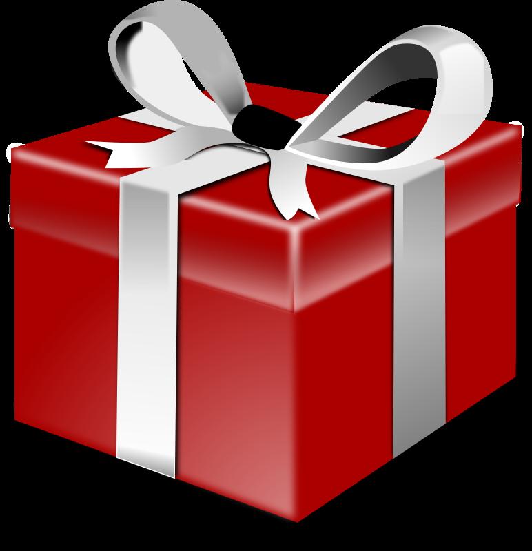 Cadeau de noel fond transparent